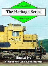 Railroad DVD: Santa Fe in 1988 and 1989 in Missouri, Kansas and Illinois