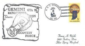 CHIKASKIA (AO-54) 6 June 1966 Locy Type 2t(nu) Gemini 9A Atlantic Fleet