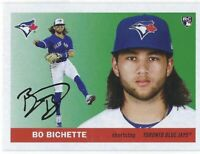 2020 Topps Archives Bo Bichette Rookie Card RC #45 Toronto Blue Jays