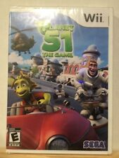 Planet 51: The Game (Nintendo Wii, Wii U 2009) New Sealed