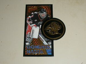 1997-98 Pacific Dynamic Duos Die Cut #3A Dominik Hasek