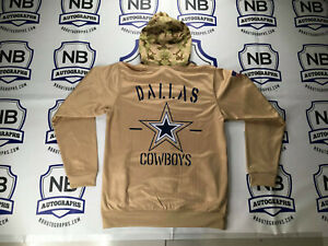 Dallas Cowboys Service Hoodie Military Green Size Large