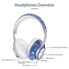 Bluedio A2-Air беспроводной Bluetooth 4.2 overear наушники, наушники, микрофон/Китай синий