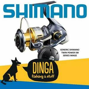 Shimano TwinPower 8000SWB-PG Spinning Fishing Reel