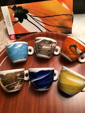 Illy collection 1999 schwung by peter roesch 6 tazzine caffe