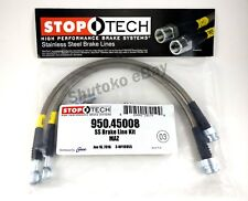 STOPTECH SS STAINLESS STEEL FRONT BRAKE LINES FOR 90-05 MAZDA MIATA MX5 NA NB