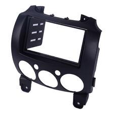 Stereo Fascia Dash Panel Mount 2Din Radio Dash Frame Kit Fit Mazda 2/Demio 07-14