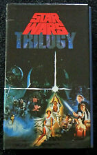 STAR WARS Original Trilogy VHS Box Set AUS 1992