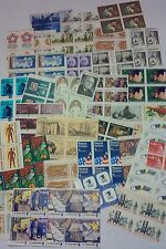 New 100 Assorted Mixed, Multiples & Singles of 8 ¢ US Postage Stamps. FV = $8.00