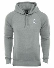Jordan Flight Pullover Hoodie Mens 823066-063 Dark Grey Fleece Hoody Size L