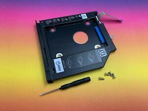 2nd HD HDD Caddy SATA Adapter Dell 3467 3468 3476 3567 9,5mm