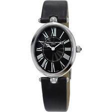NEW Frederique Constant Art Deco Ladies FC200MPB2V6 Swiss Satin Strap Watch
