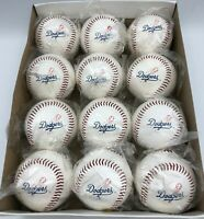 Los Angeles Dodgers Baseball Official Size Dozen Balls Licensed Team Logo Lot/12
