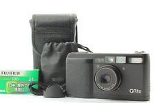 [EXC+5 in Original Case] Ricoh GR1s GR-1s Black 35mm Film Camera Hood Japan #894