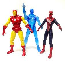 "Marvel  Universe 3.75"" action figures IRONMAN, ELECTRO, SPIDERMAN set lot"