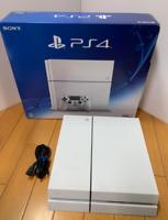 SONY PS4 PlayStation 4 Glacier White CUH-1200AB02 500GB Console Japan Fedex F/S