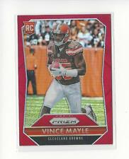 2015 Panini Prizm Prizms Red #300 Vince Mayle Rookie RC Browns