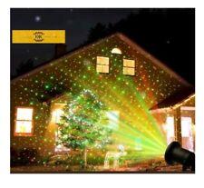 Luci di Natale LED Proiettore Laser per Esterno Impermabile Faro addobbo natale