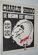 CHARLIE HEBDO N°65 14/02 1972 WOLINSKI CAVANNA CHORON REISER GEBE WILLEM CABU