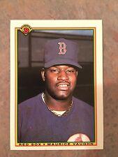 1990 Bowman Baseball Card #275 Mo Vaughn Boston Red Sox Rookie NM/MT
