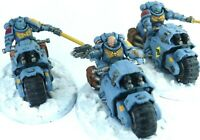 Warhammer 40k Space Marines Primaris Space Wolves Indomitus Outriders Squad