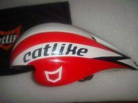 Catlike Chrono Aero Plus TT Triathlon Helmet Red/White MT 55-60cm