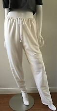 Urban Outfitters Urban Renewal Knit Pants Drawstring Waist White Size Large NWT