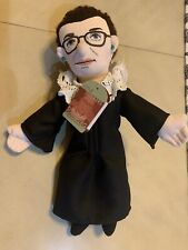 Ruth Bader Ginsburg   Little Thinkers   PLUSH DOLL  Philosophers Guild