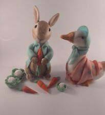 Peter rabbit and jemima Handmade edible cake toppers birthday party unofficial