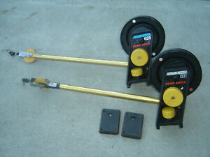 Two Penn Fathom Master Manual Downriggers with New Cable