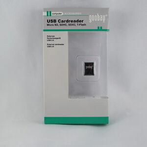 USB 2.0 externes micro Kartenleser für micro SD / SDHC / SDXC T-Flash Karten OVP