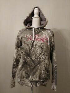 Cabela's Seclusion 3D Open Country Pullover Hoodie Sweatshirt Women's Small