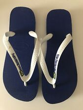 Men's Havaianas flip flops Marine blue and white - NUOVE
