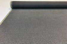 Coal Grey Canvas Tweed Fabric 56