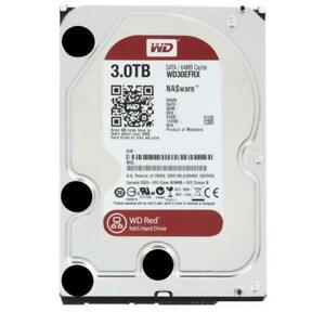 "WESTERN DIGITAL HARD DISK INTERNO SERIE RED 3TB SATA III 3.5"" (WD30EFRX)"