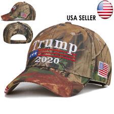 Donald Trump 2020 Hat USA Flag Camouflage Baseball Cap MAGA Hat  Embroidery j-c