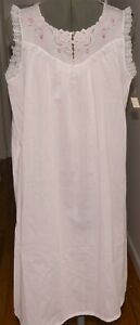 NEW WITH TAG NWT VINTAGE Shift sleeveless Katz nightgown summer sleepwear