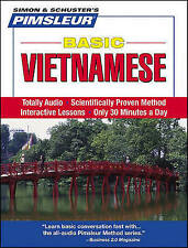 Pimsleur Vietnamese Basic Course - Level 1 Lessons 1-10 CD: Learn to Speak and U