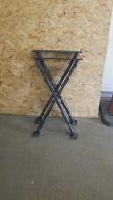 Industrial Crossed  METAL COFFEE TABLE LEGS. 50 cm tall 30cm wide