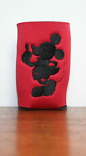 Mickey Mouse Inspired 1 Red CanCooler Double Sided Designs machine embroidered