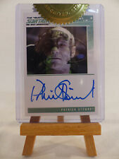 Complete Star Trek TNG Series 1 Autograph Card Patrick Stewart Picard / Locutus