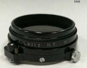 Orig Leica Leitz A41 New York Filter Lens Polfilter Polarizer Polarizing 509/6
