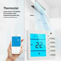 Smart Thermostat LCD Air-conditioning Temperature Controller Switch Office Home