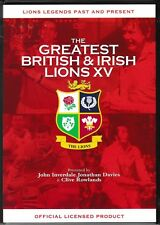 THE GREATEST BRITISH & IRISH LIONS XV NEW DVD LIONS LEGENDS PAST & PRESENT