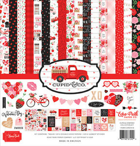 "Echo Park Cupid & Co. 12"" Collection Kit  13pk"