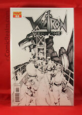 Voltron Year One #1 C Black & White Variant 1:10 Lau Bagged & Boarded NM/M+!