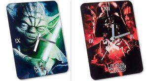 Star Wars the Clone Wars Wanduhr Glasuhr Uhr Kinderuhr Tischuhr