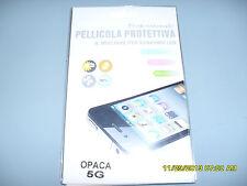 IPHONE 5G PELLICOLA PROTETTIVA PROFESSIONALE TRASPARENTE MIGLIORE SCHERMO LCD