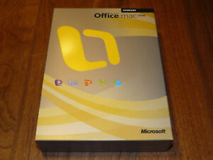 Microsoft Office Mac 2008 englische Vollversion