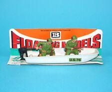 BRITAINS HERALD FLOATING MODELS #4301 US ARMY ASSAULT CRAFT BOAT 1970s ENGLAND